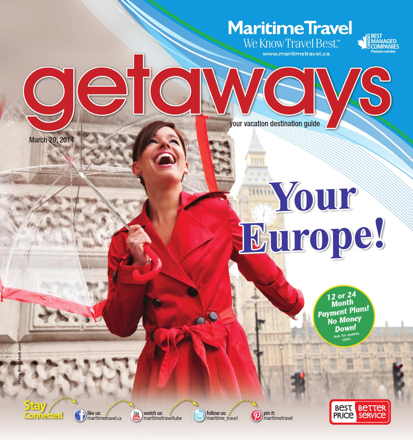 Maritime Travel - Getaways - March 29, 2014 by Marty Fisher - issuu