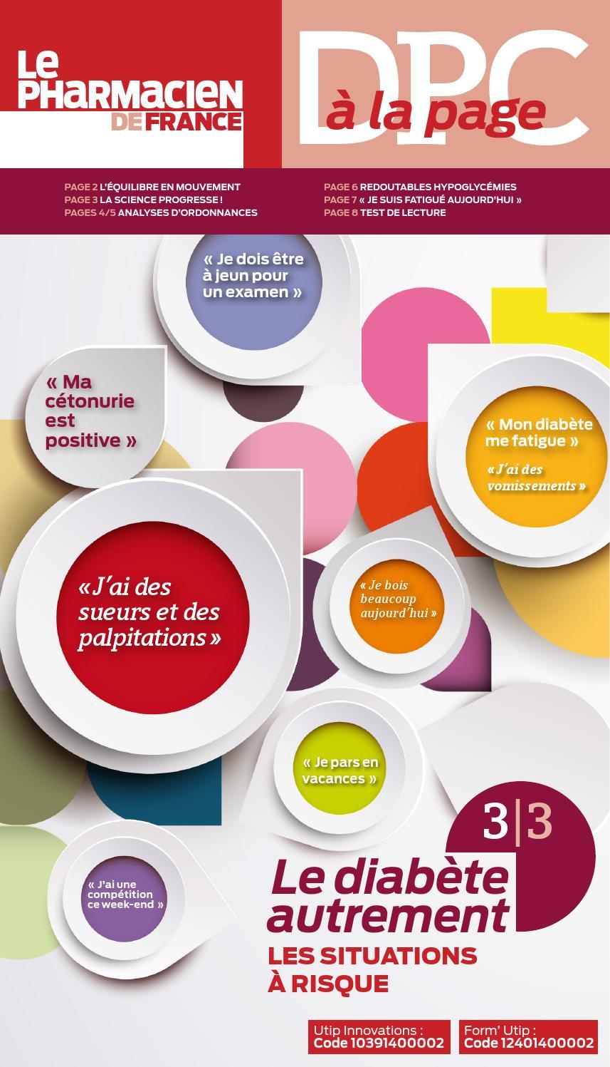 DPC à la page Diabète 3/3 by LAURENT SIMON - issuu