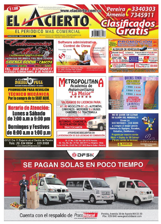 Pereira 583 by el acierto pereira - issuu 7d5e3012602