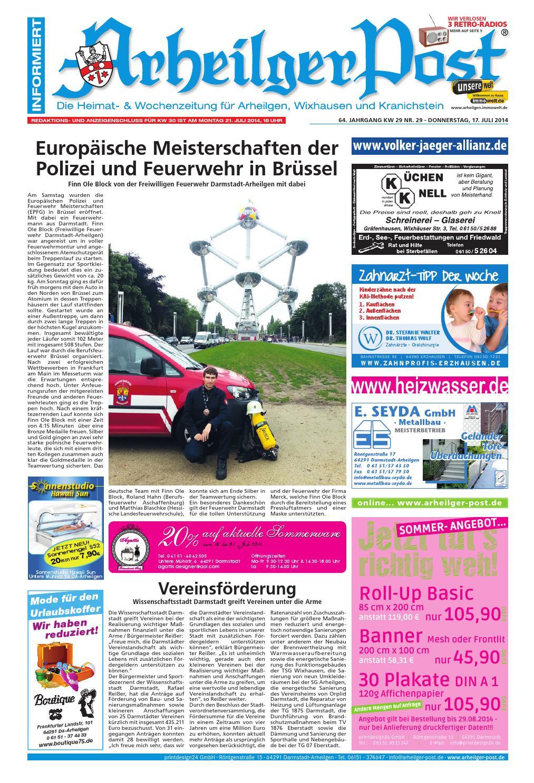 Arheilger Post KW29 by printdesign24gmbh - issuu