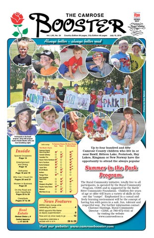 July 15, 2014 Camrose Booster by The Camrose Booster - issuu