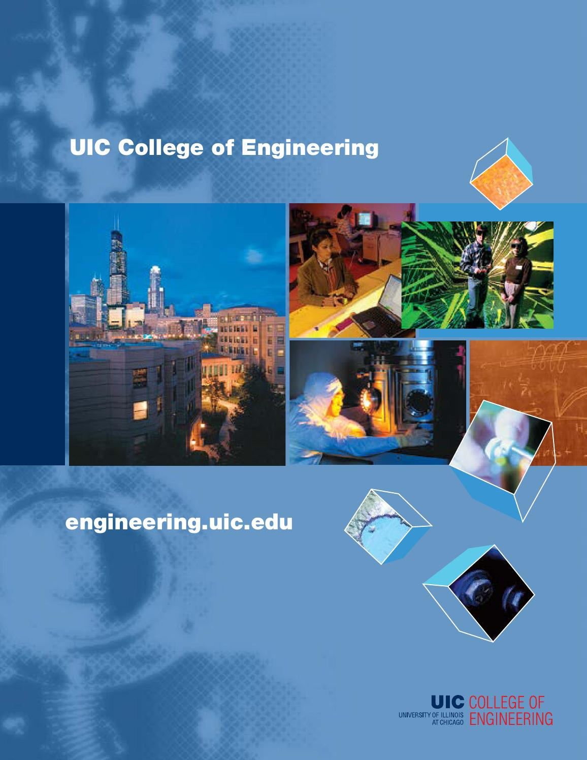 Uic college of engineering undergraduate brochure by uic for Placement brochure design