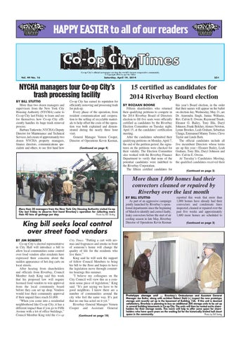 Co Op City Times 04 19 14 By Co Op City Times Issuu