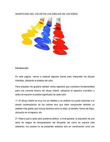 Significado del color en los dibujos de los niños by Sofia Coello ...