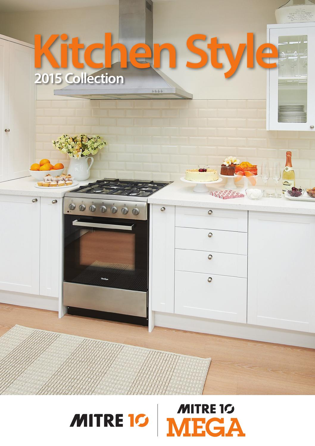 mitre 10 kitchen cabinets kitchen style 2015 collection by draftfcb issuu 23428
