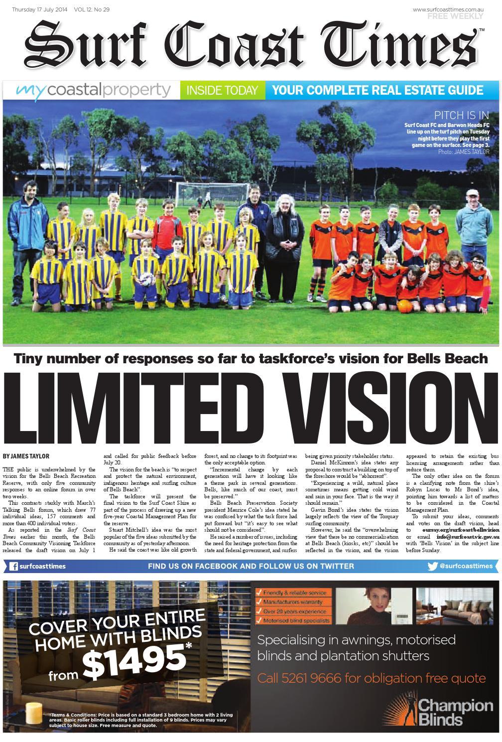 Surf Coast Times July 10, 10 by Surf Coast News Australia Pty ...