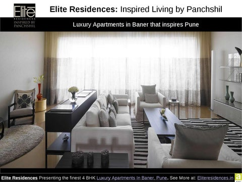 a76453448e0 Elite Residences Presenting the 4 BHK Luxury Apartments in Baner Pune