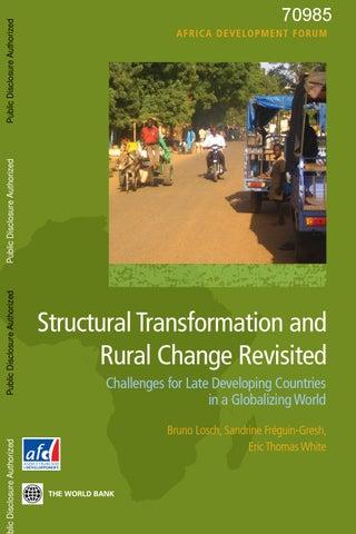 397cabe30e2a Structural transformation ruralchange by Agence Française de ...