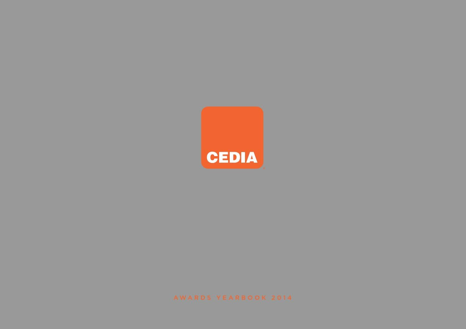 Cedia Awards 2014 Yearbook By Emea Issuu The Rako Wireless Dimming Controls In Detail Ceiling Inline And