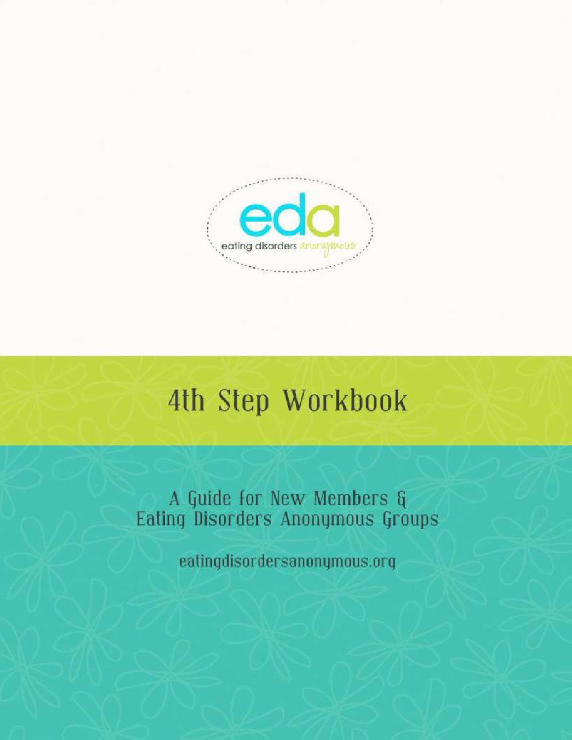 Workbooks eating disorder workbook : Step Four Workbook Eating Disorders Anonymous by EDA - issuu