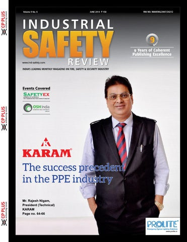 Industrial safety review november 2014 by divya media publications industrial safety review june 2014 sciox Images