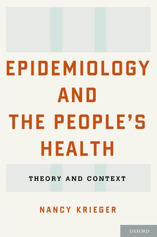 Epidemiology and the People's Health / Ebook by Rheach İzmir - issuu