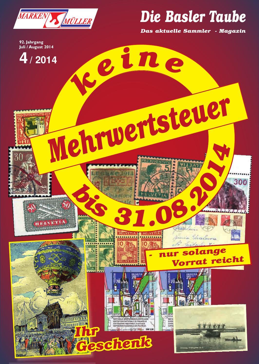 Sammlermagazin 04_2014 by Marken Mueller AG - issuu