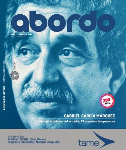 Revista Abordo - Siete mujeres en la vida de  Gabo  by Ekos - issuu 4f5a66bfe5e8