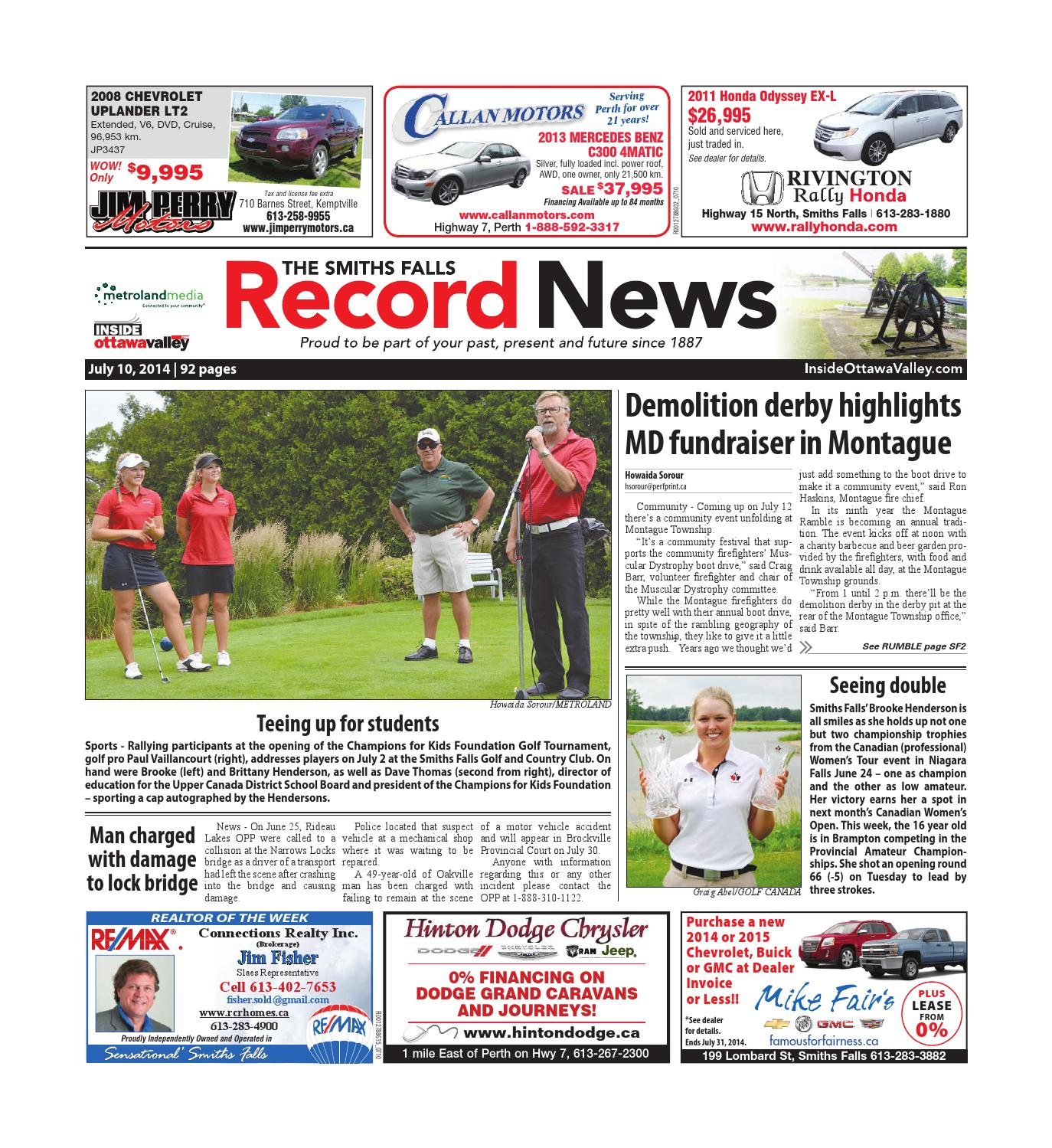 e6e7cd09bba Smithsfalls071014 by Metroland East - Smiths Falls Record News - issuu