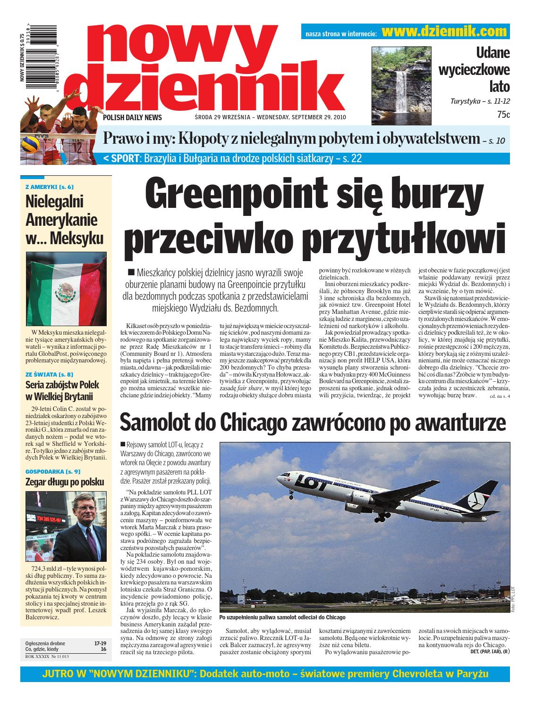 Nowy Dziennik 20100929 by Nowy Dziennik issuu