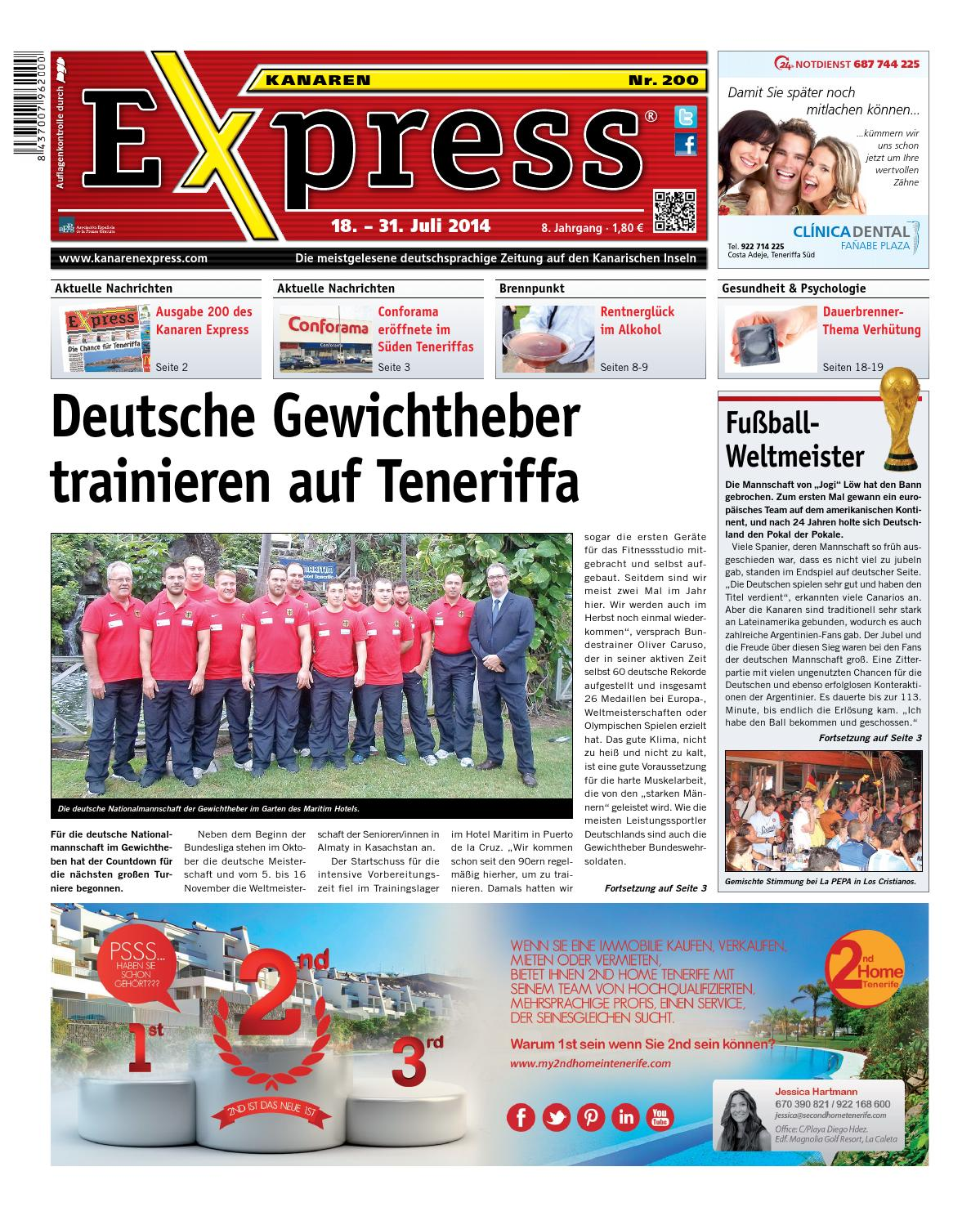 Kanaren Express 200 By Island Connections Media Group Issuu