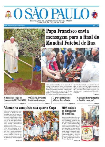 O SÃO PAULO - edição 3011 by jornal O SAO PAULO - issuu e9c9681739420