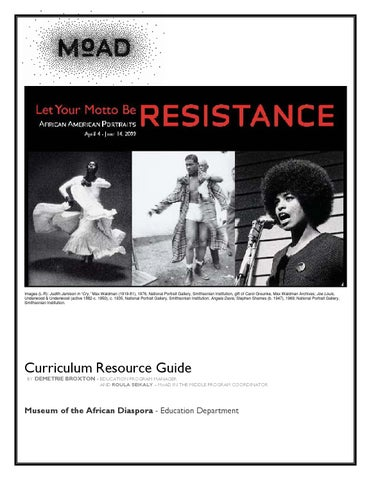Moadsf resistance curriculum guide by Demetri Broxton - issuu