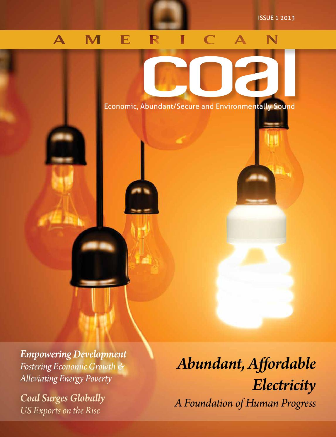American Coal Issue 1 2013 by American Coal Council - issuu