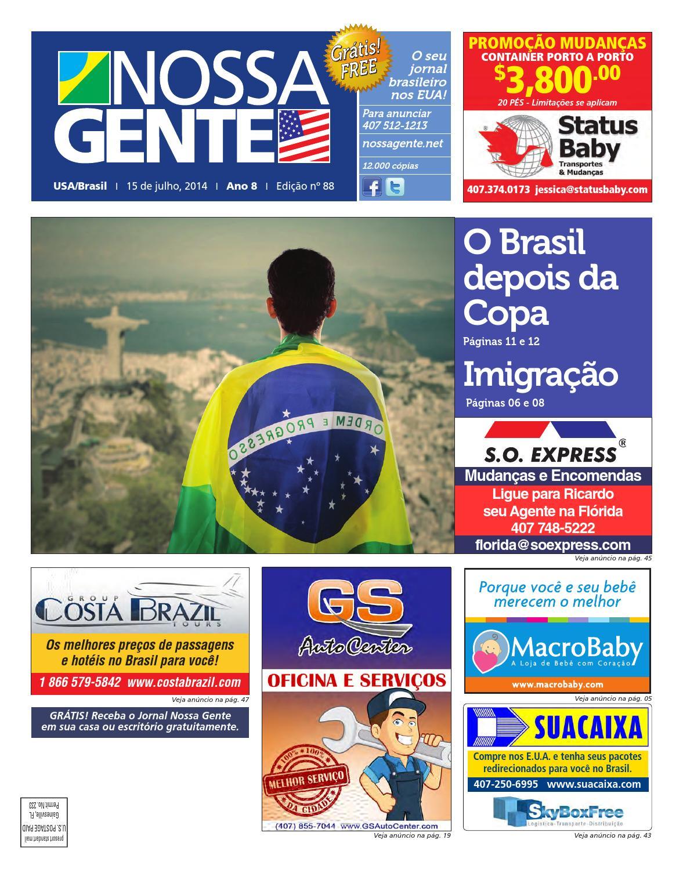 39642dba9c8 Nossa Gente 88 by Nossa Gente - issuu
