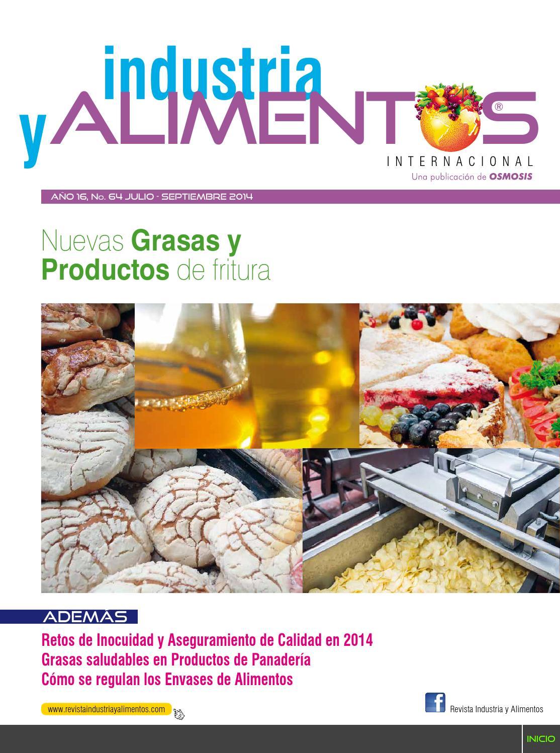 Revista Industria y Alimentos 64 by Revista Industria y Alimentos ...