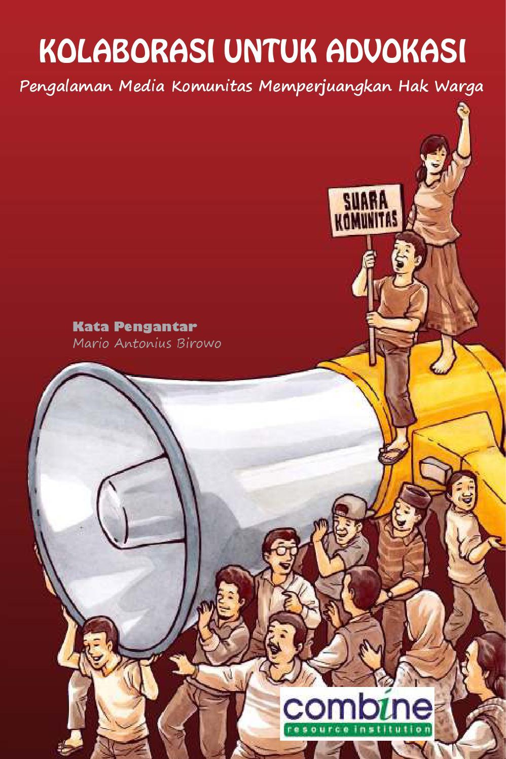 Hasil gambar untuk buku kolaborasi untuk advokasi