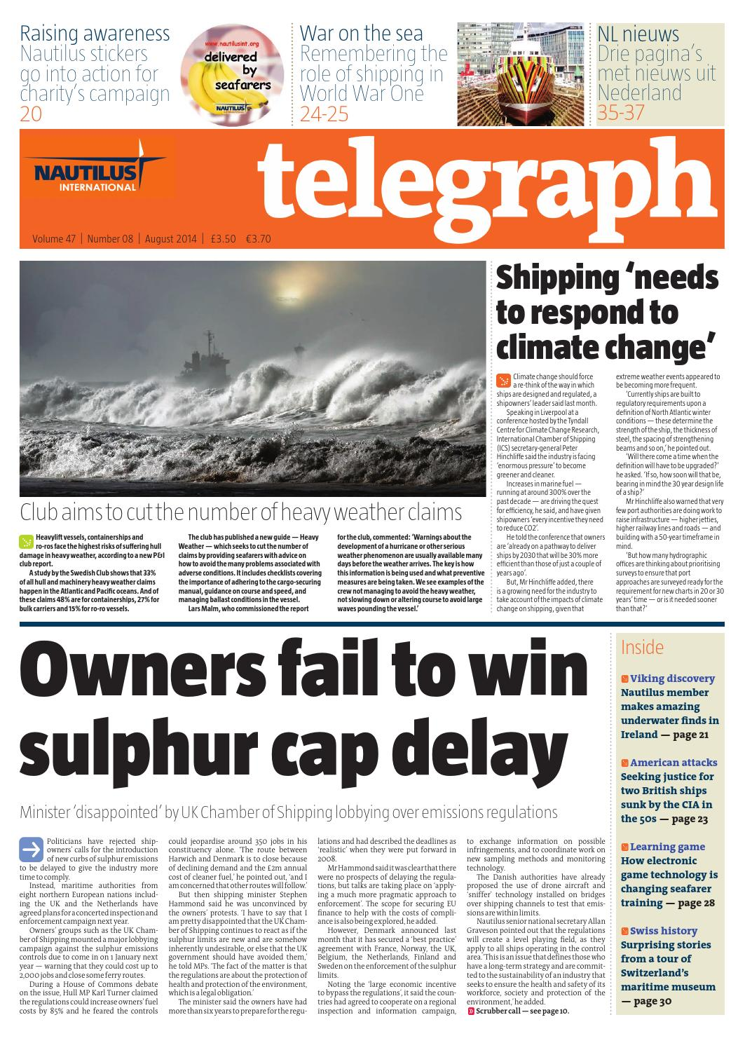 Nautilus Telegraph August 2014