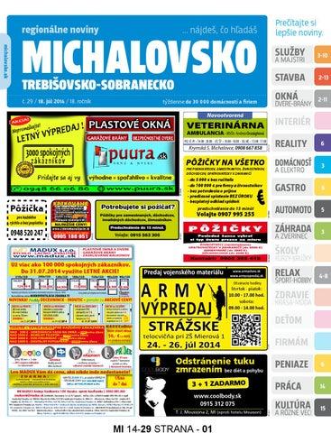 5f630d1d522b Michalovsko 14-29 by REGIONPRESS - Michalovsko - issuu