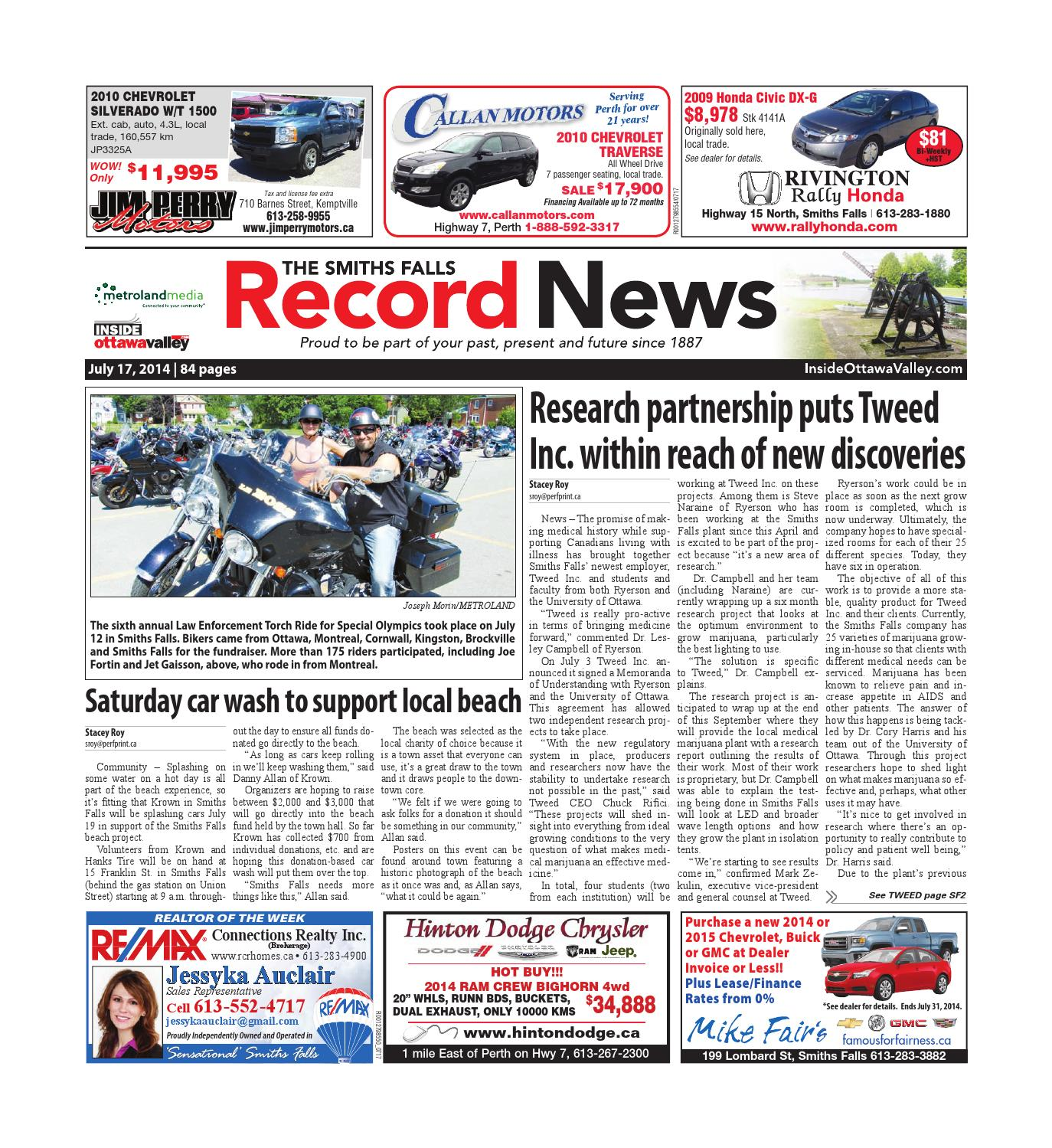 Smithsfalls071714 By Metroland East Smiths Falls Record News Issuu Cruiser Courier Cb Radio Mic Wiring
