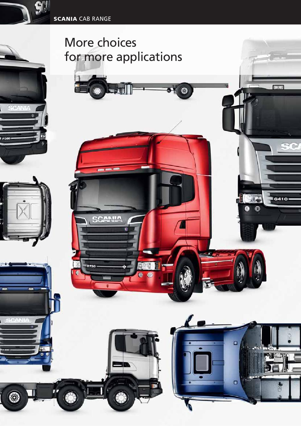 Scania Cab Range By Scania Great Britain Limited Issuu