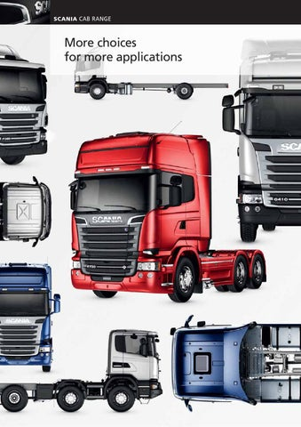 Scania Cab range by Scania (Great Britain) Limited - issuu