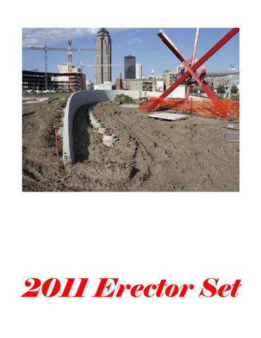 2011 Iowa State University Construction Engineering Erector Set by