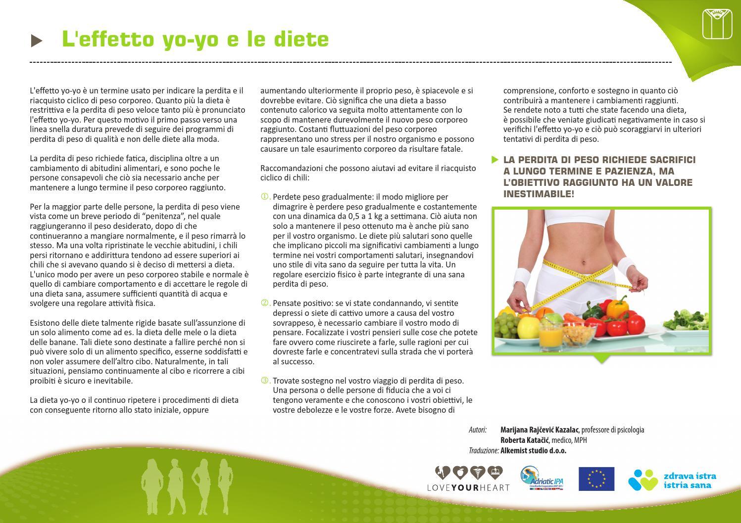 quale cibo è salutare per la perdita di peso