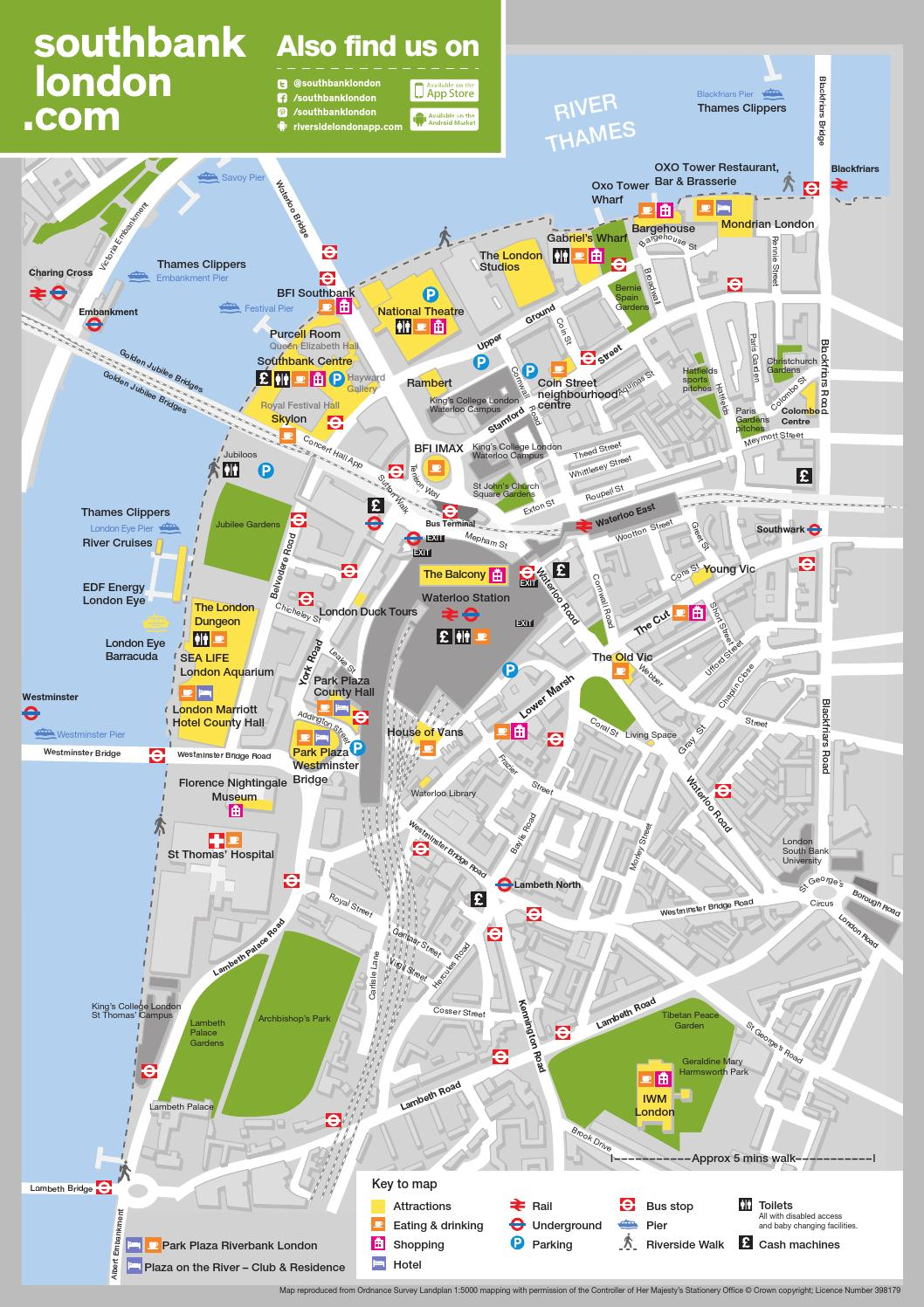 South London Map.South Bank London Map 2014 By South Bank London Issuu