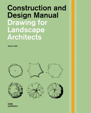 Drawing For Landscape Architects By Detail Issuu