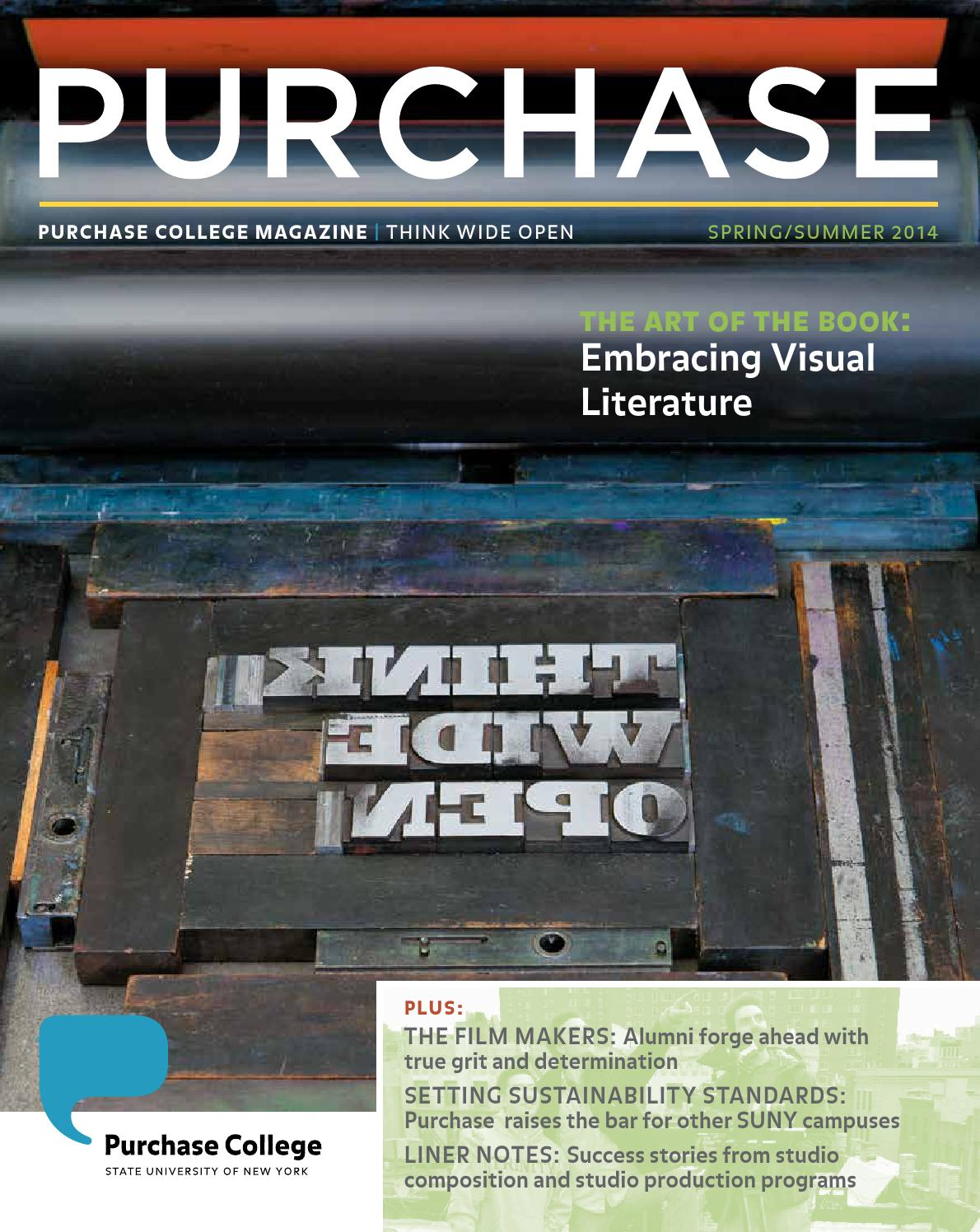 Purchase Magazine Spring 2014 by SUNY Purchase College - issuu