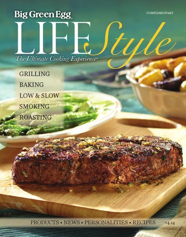 The Ultimate Cooking Experience Magazine V4-14 Inclu Big Green Egg Lifestyle