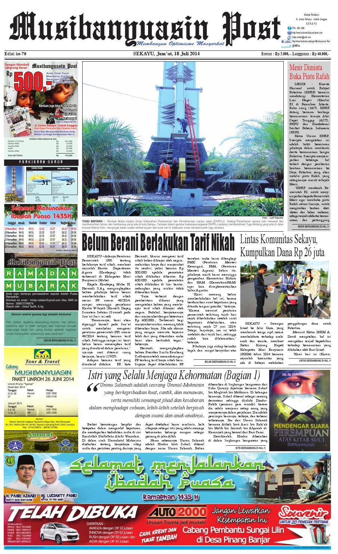 Edisi70 by Harian Musi Banyuasin Post - issuu 828cd974d8