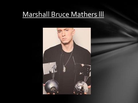 marshall bruce mathers