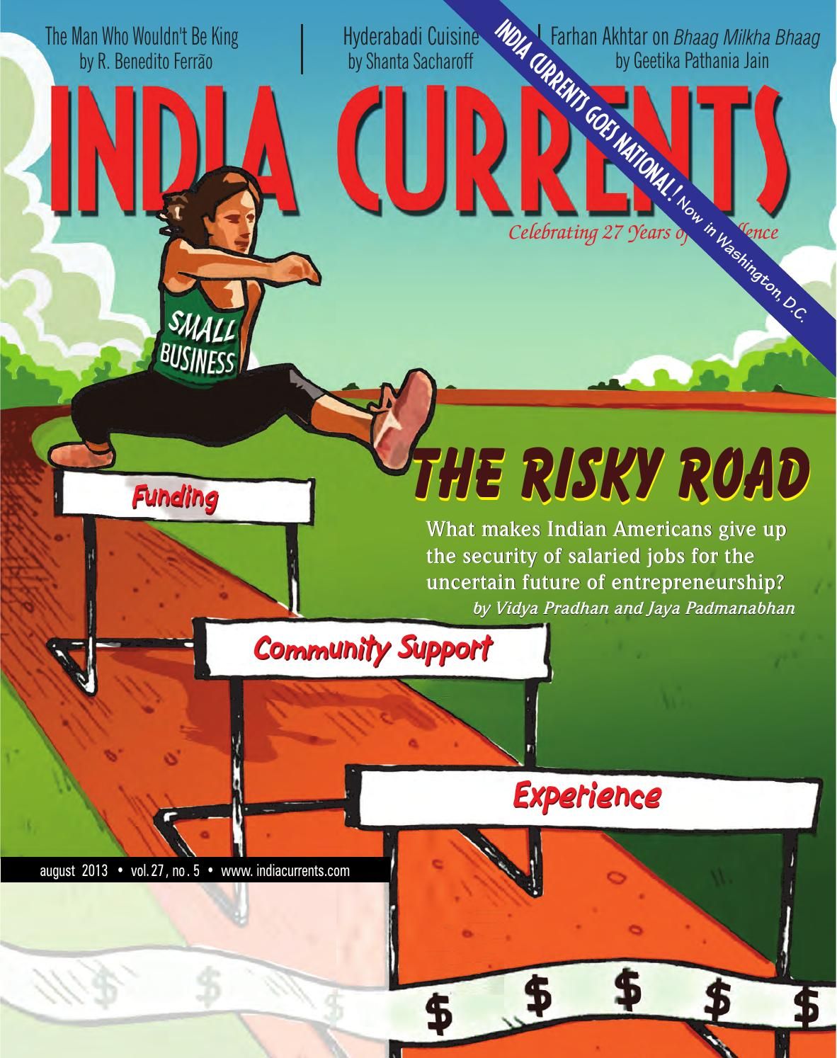 August 2013 by India Currents - issuu
