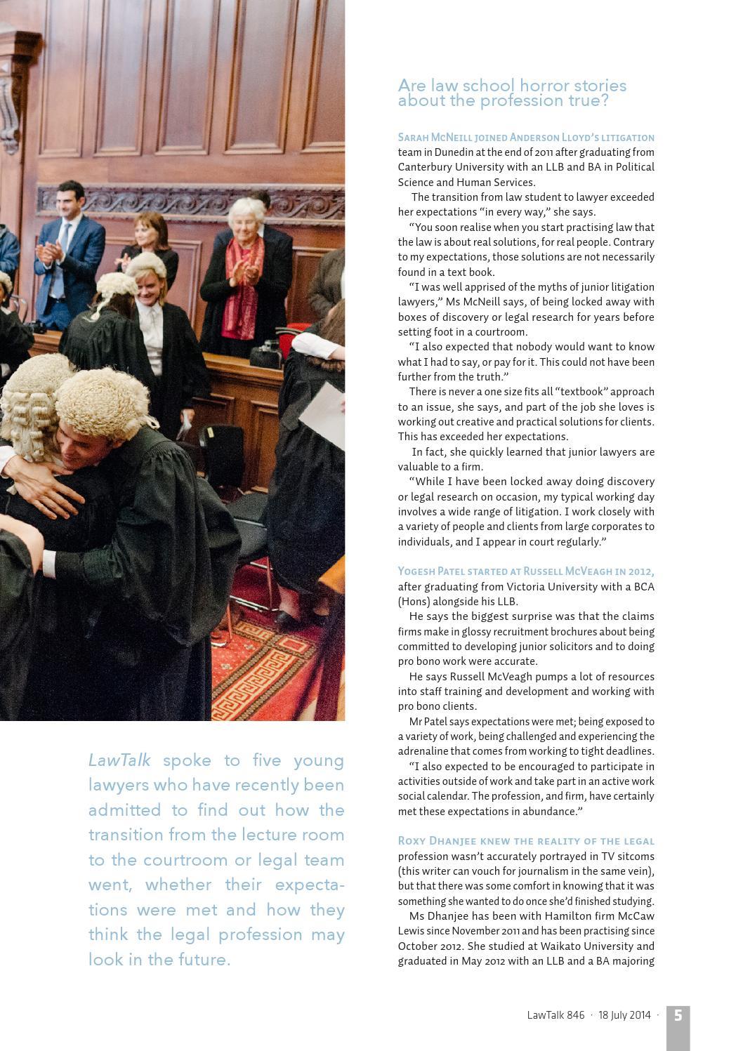 Lawtalk 846 by NZ Law Society - issuu