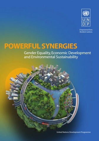 Powerful Synergies Gender Equality Economic Development And