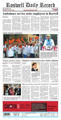 afd414a142e 07 18 14 Roswell Daily Record by Roswell Daily Record - issuu