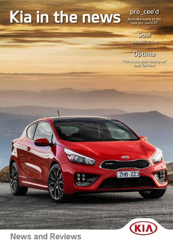 Kia News and Reviews - Issue 1 by Citrus Media - issuu