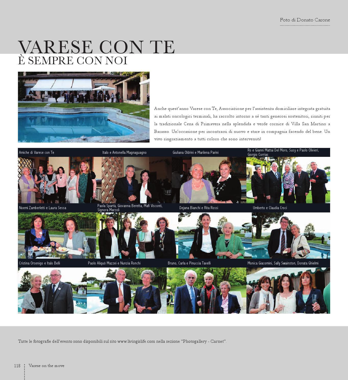 Varese Villa Vendita Via Biancamano