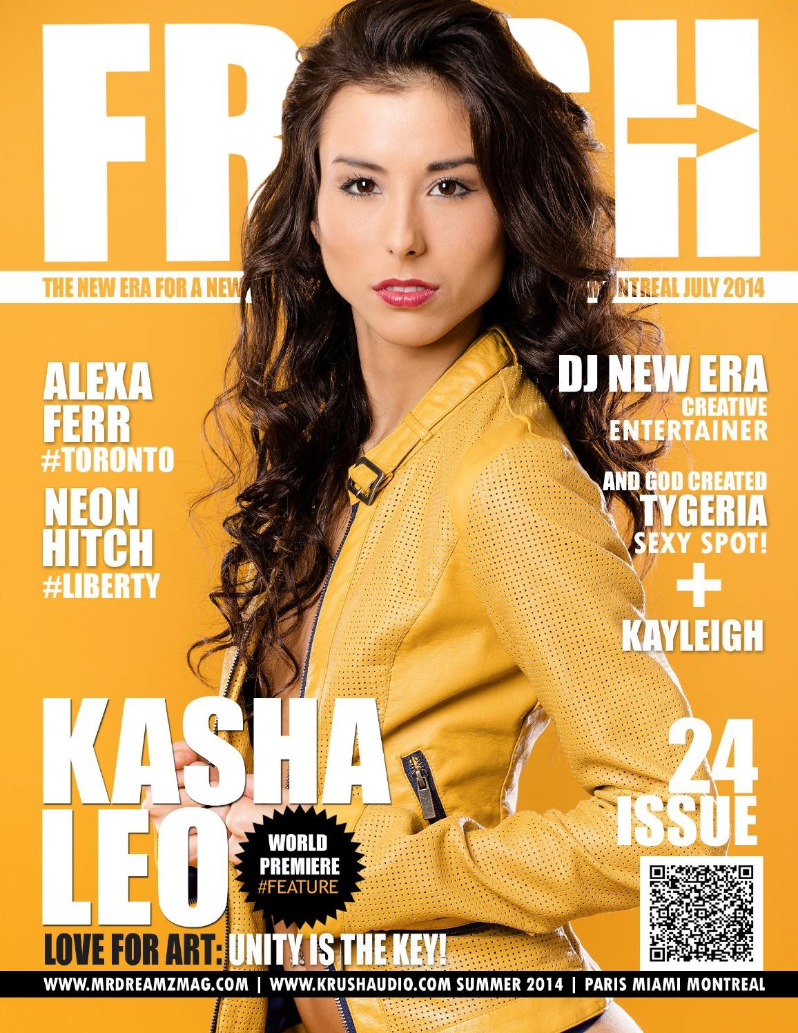 Kasha Leo Mr Dreamz Fresh Edition Summer 2014 by Mr Dreamz Magazine ...