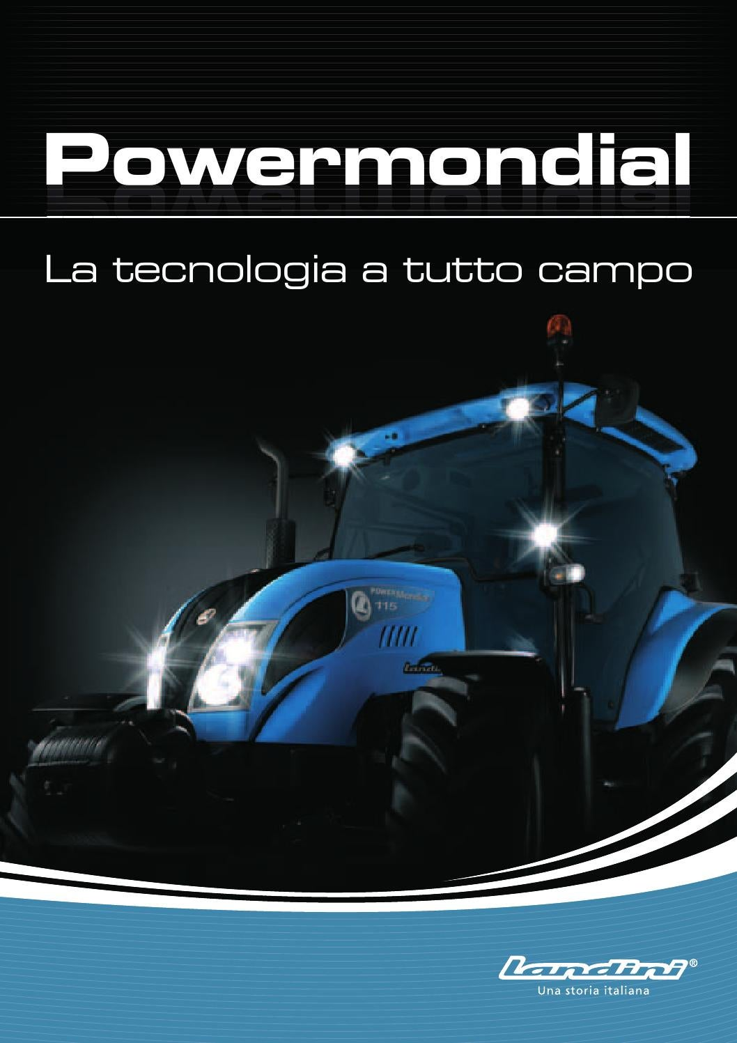 Powermondial by argo tractors issuu for Planimetrie e prezzi della cabina di log