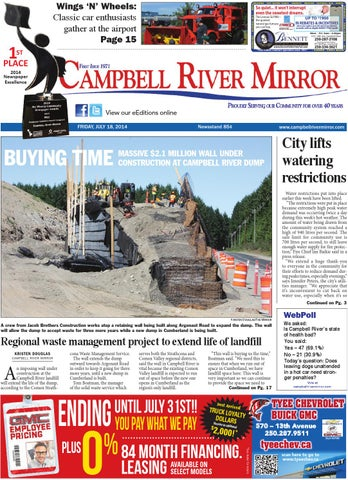 Campbell River Mirror July 18 2014 By Black Press Issuu