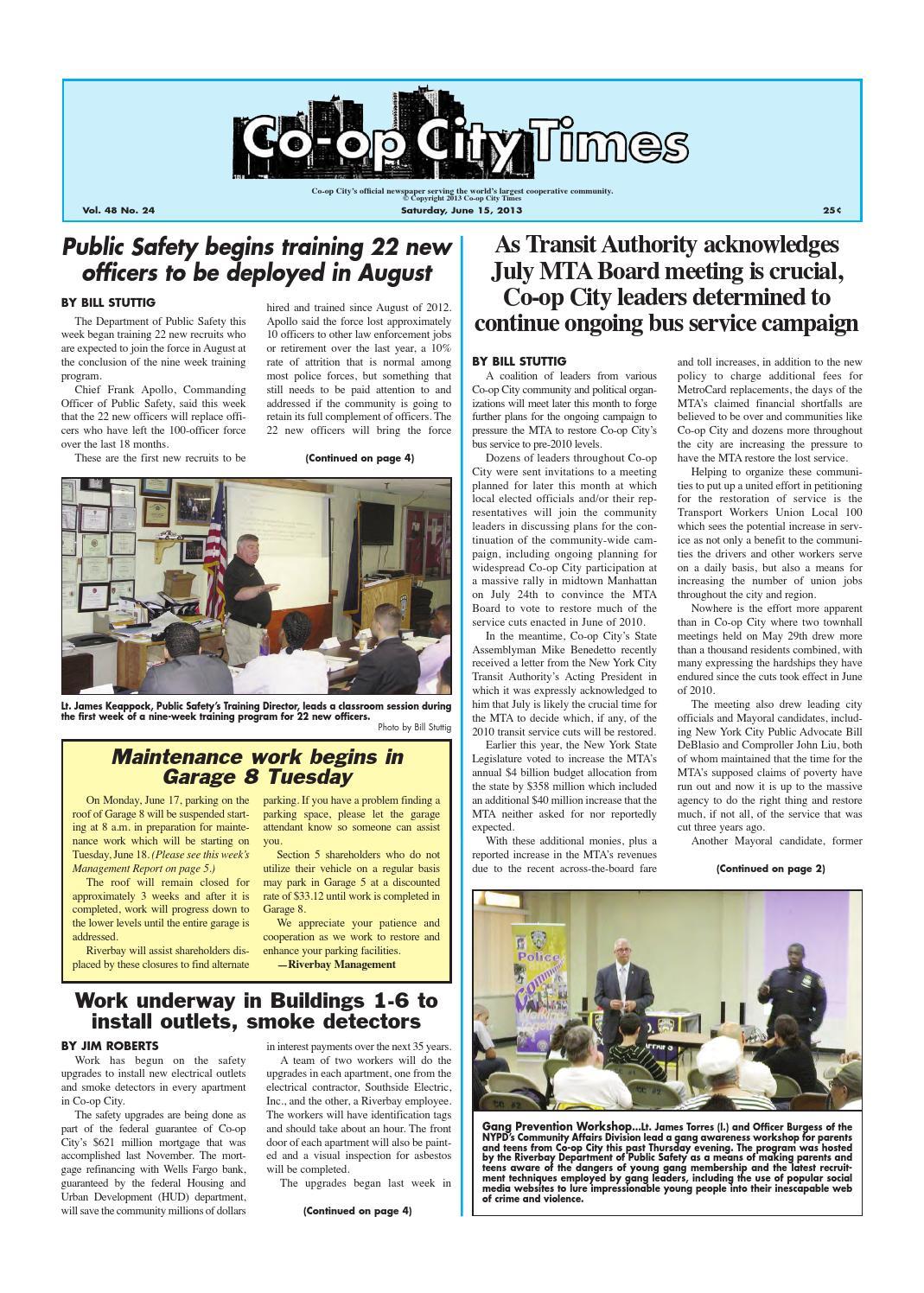 Co-op City Times 06/15/13